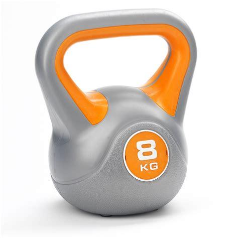 kettlebell york weight vinyl 8kg 10kg dkn kg kettlebells tone fitness sweatband workout