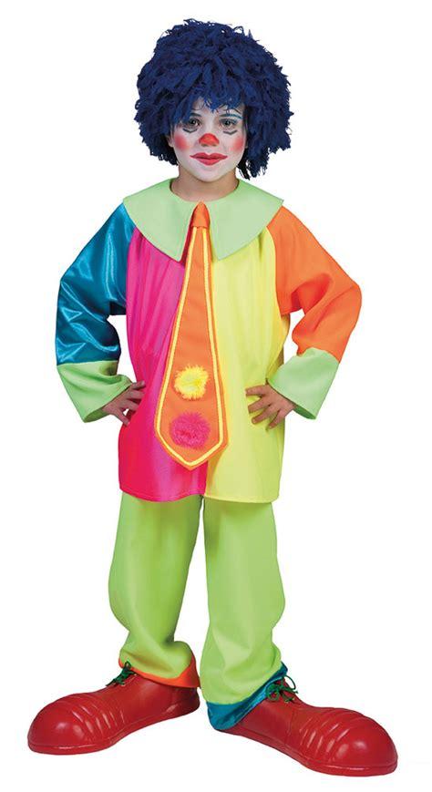fasching kostüm junge kost 252 m clown junge neon bunt clownkost 252 m kinderkost 252 m fasching karneval kk ebay