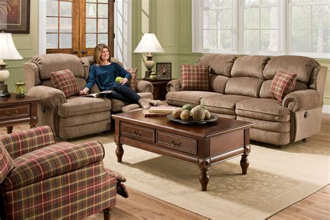 Plaid Recliner by Dory Plaid Accent Recliner At Gardner White