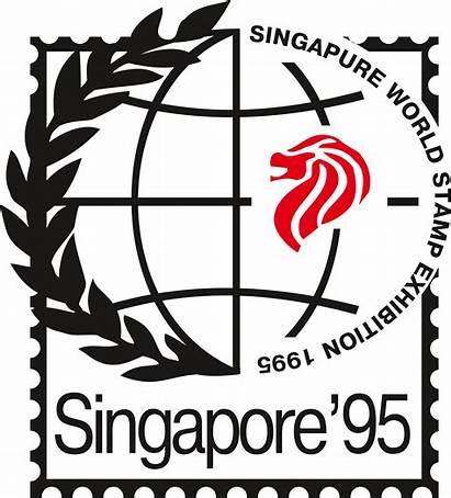 Stamp Exhibition Singapur Logos