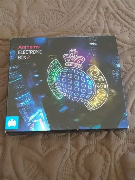 Don't get me wrong i happen to love virgin records output for the first half of the 80s, but it's a little much. Anthems: Electronic '80s by Various Artists (CD, Nov-2009, 3 Discs, Ministry of Sound) for sale ...