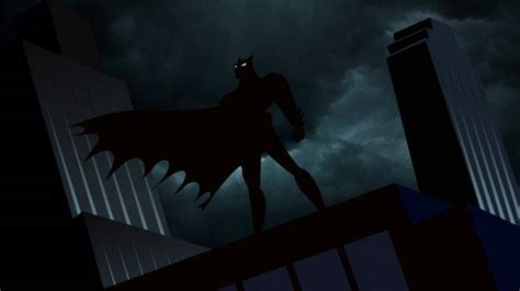 X Animated Series Wallpaper - batman animated series gotham city wallpapers hd