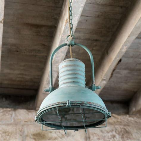 rustic industrial cage pendant light antique farmhouse