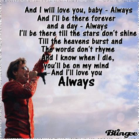 Always You Testo Always Traduzione Bon Jovi Balada
