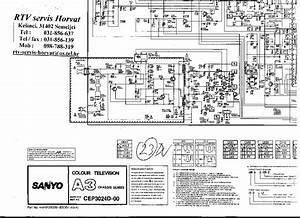 Sanyo Cep3024d Service Manual Download  Schematics  Eeprom