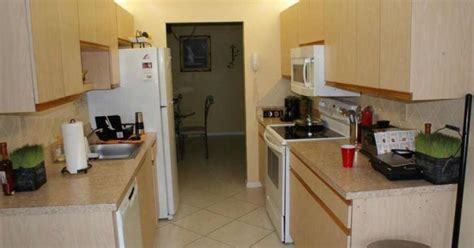 how to update a galley kitchen updating 80s galley kitchen hometalk 8936