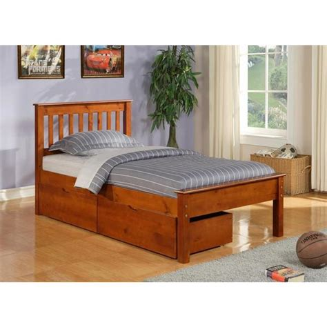 shop donco kids full size contempo bed  dual  bed