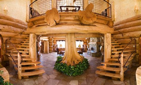 Inside Luxury Log Homes Luxury Log Cabin Home, luxury log ...