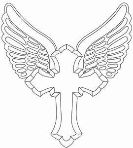 Cross Outline Tattoo Designs | Vector Tattoo Design ...