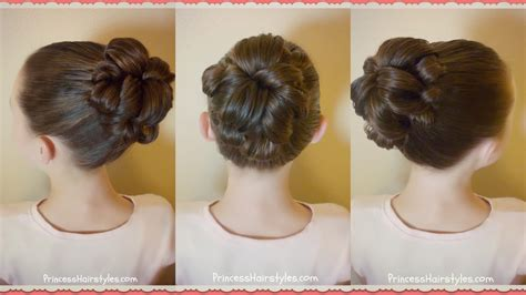 topsy tail bun tutorial quick and easy hairstyle for