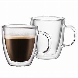 Tasse En Verre : tasse bodum bistro verre double paroi 15 cl par 2 ~ Teatrodelosmanantiales.com Idées de Décoration