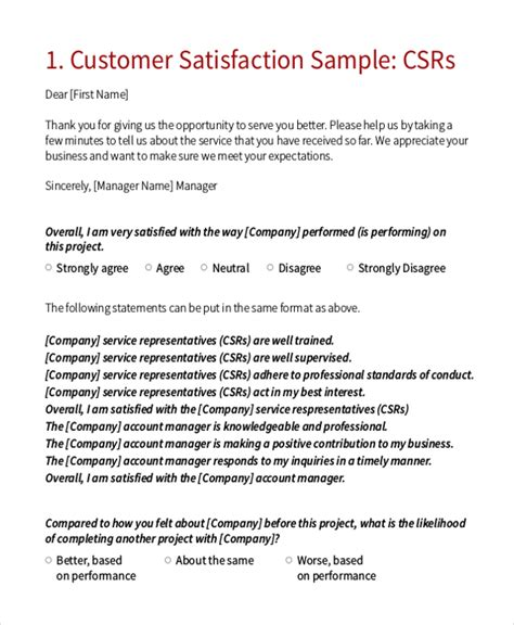 cover letter 187 cover letter for customer satisfaction