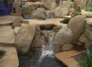 Desert Back Yard Water Features