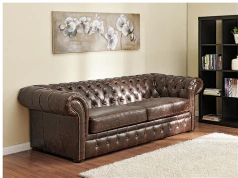 canapé chesterfield cuir convertible canape chesterfield cuir convertible 28 images photos