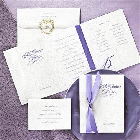 wedding guest book photo album mis quince años invitation sle