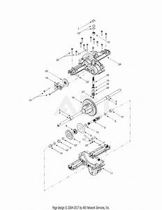 Mtd 13az608h131  2004  Parts Diagram For Transmission
