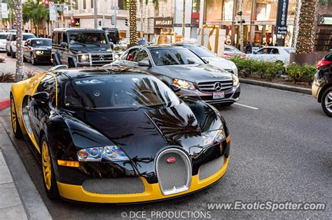 Bugatti Dealers California by Bugatti Veyron Spotted In Los Angeles California On 12 26