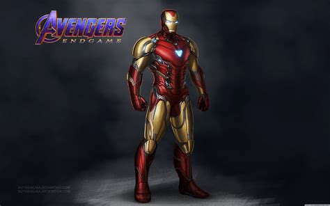 avengers endgame iron man mark  ultra hd desktop