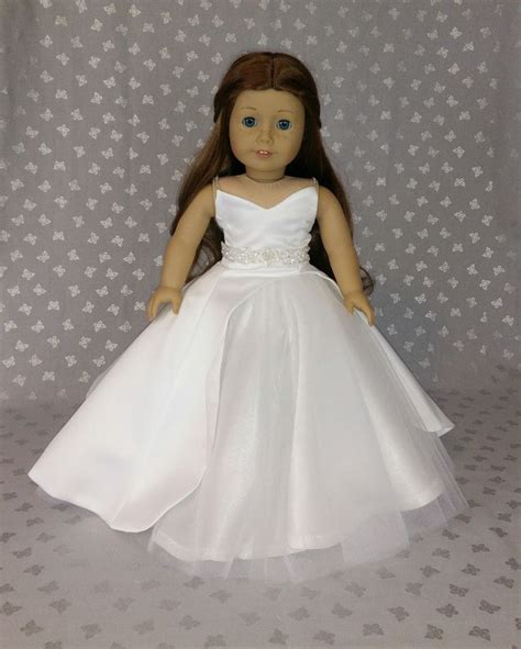 american girl doll gowns images  pinterest ag