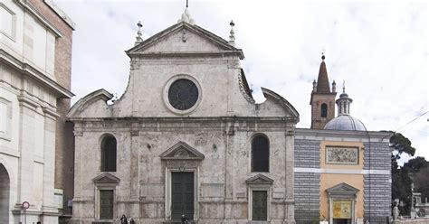 chi ha costruito la cupola di san pietro audioguida piazza popolo chiesa santa