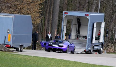 Bugatti was able to, once again, increase the number of deliveries in the first. Purple and Black Bugatti Veyron SuperSports at the Factory - GTspirit