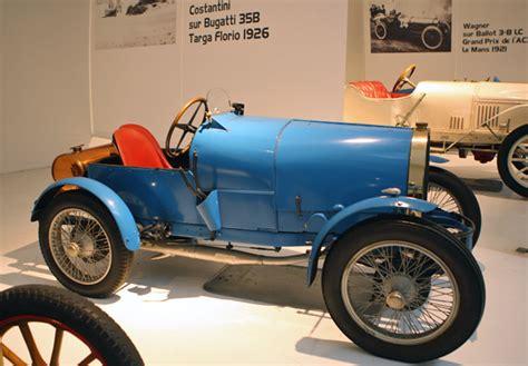 Bugatti And Gordini Racecars At The Schlumpf