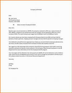 5+ salary increase letter sample for employees Simple Salary Slip