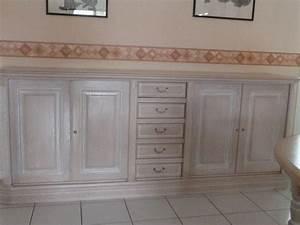 salle manger chene ceruse clasf With salle À manger contemporaineavec meuble blanc ceruse salle a manger