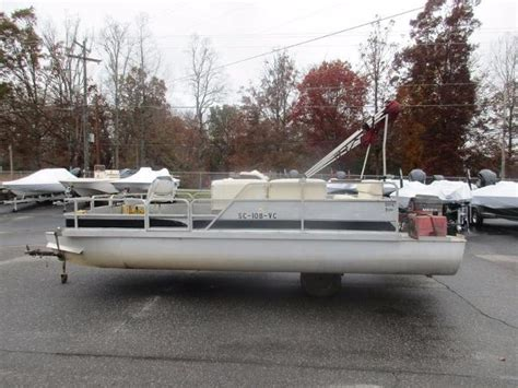 Used Pontoon Boats Nc by Used Pontoon Boats For Sale In Carolina Page 1 Of