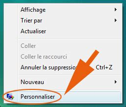 comment changer les icones du bureau retrouver la corbeille sous windows 7 ou vista