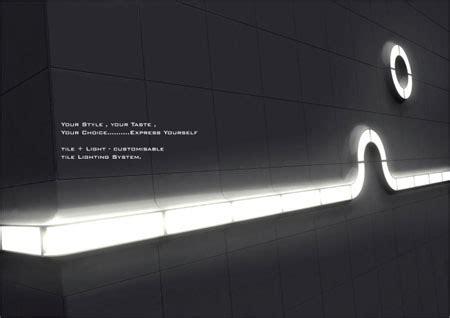 led concept lighting light tiles design by hyomi tuvie