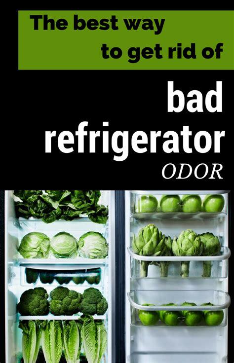 ways   rid  bad refrigerator odor