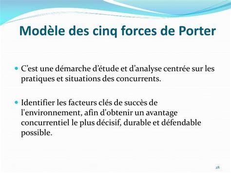 cinq forces de porter ppt pr 233 sentation g 233 n 233 rale de la strat 233 gie et du management des entreprises powerpoint