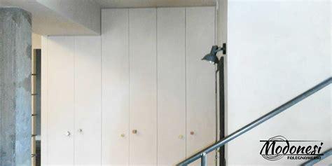 armadio a muro su misura armadi in nicchia su misura falegnameria modonesi
