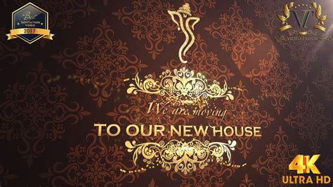 house warming ceremony invitation video griha pravesh