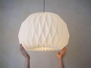 Origami Lampe Anleitung : how to make origami lampshade 3d origami origami lampenschirm origami origami lampe ~ Watch28wear.com Haus und Dekorationen
