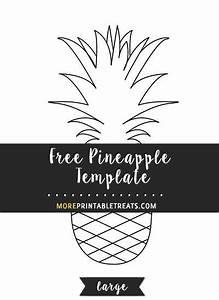 Free Pineapple Template