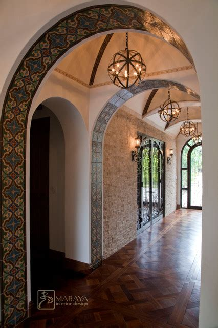 home interior arch designs arched and groin vault entry mediterranean