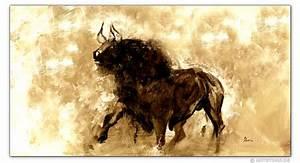 Stier Bilder Auf Leinwand : wandbilder mia morro el toro der stier kunstdrucke leinwand keilrahmen ~ Whattoseeinmadrid.com Haus und Dekorationen