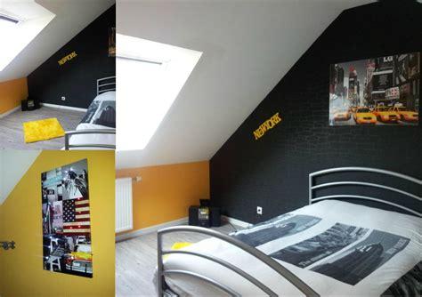 deco chambre jaune deco chambre ado gris et jaune