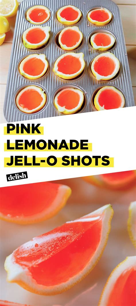 Pink Lemonade Jell-O Shots Have Us Dreaming Of Summer ...