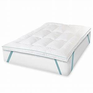 therapedicr memorylofttm eurogel deluxe bed topper bed With bed bath and beyond queen mattress topper