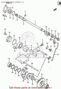 Suzuki Rm250 2000  Y  Exhaust Valve  Model T