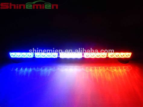 white blue led strobe light bar car roof led light bar