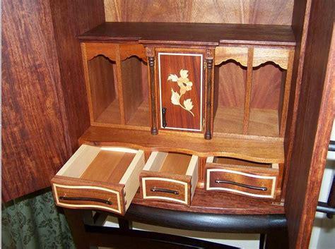 bubinga cabinet stand