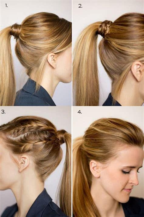 chic ponytail hairstyles  medium length hair fmagcom