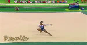 simone biles floor routine exercise rio 2016 olympic