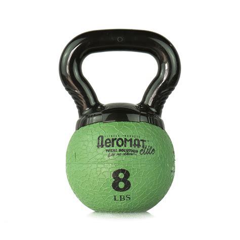 kettlebell aeromat mini elite ball orange lb gym professional