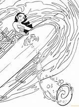 Moana Disney Coloring Ship Printable Cartoons sketch template