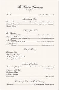 image detail for wedding program examples wedding program With sample wedding ceremony program